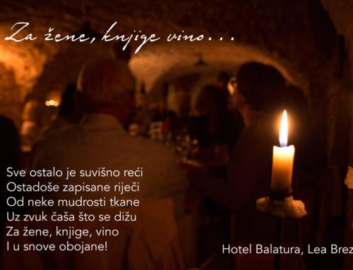 Pet knjiga, pet vina, pet žena i pet živih snova, Hotel Balatura
