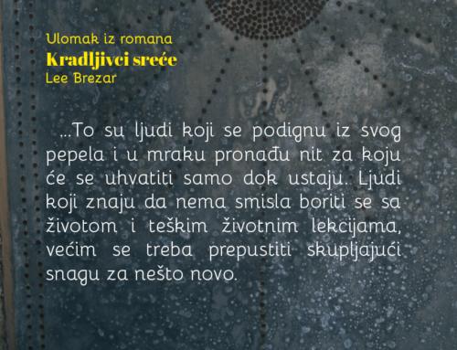 Odlomak iz romana Kradljivci sreće – Irena